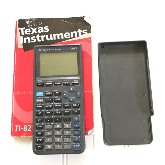 Texas Instruments Other - TI-82 Graphing Calculator with Manual Guide